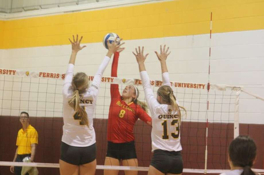 It was a clean sweep for Ferris' volleyball team against Northern Michigan.