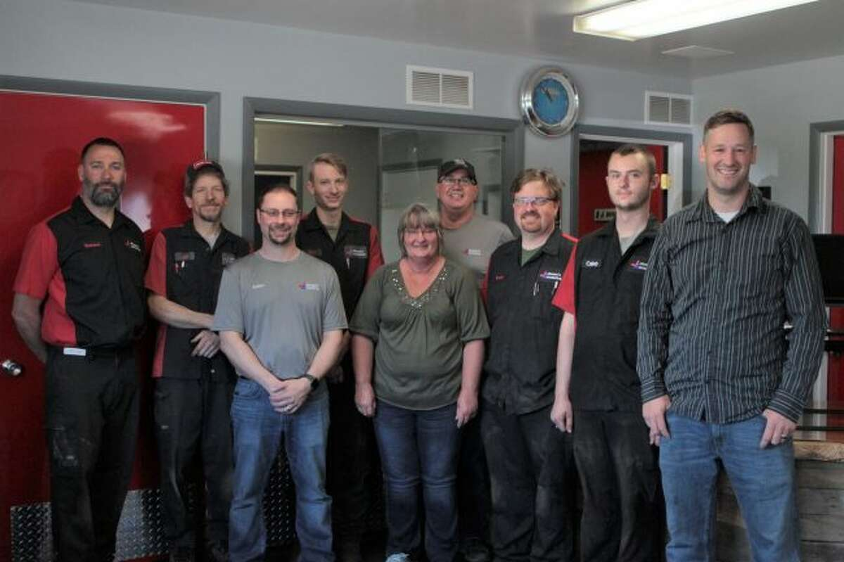 Lee Johnson, owner of Johnson's Automotive Repair, said the goal for him and his team is to serve their customers and community as effectively as possible. The recently completed expansion to the business was done in an effort to accomplish this objective, he said. (Pioneer photo/Taylor Fussman)