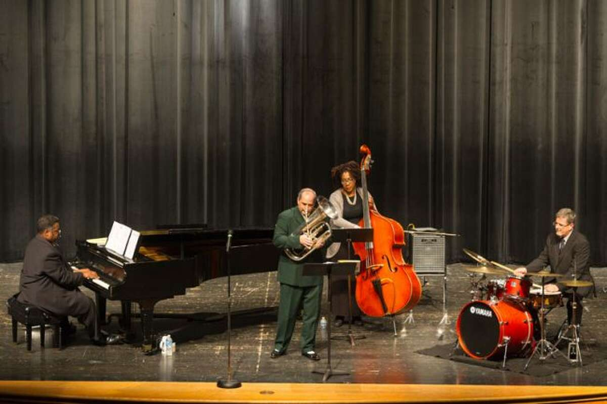 The Alvin Waddles Trio performs with Tuba Bach's Ed Mallett during the 2012 Tuba Bach Chamber Music Festival. (Courtesy photo)