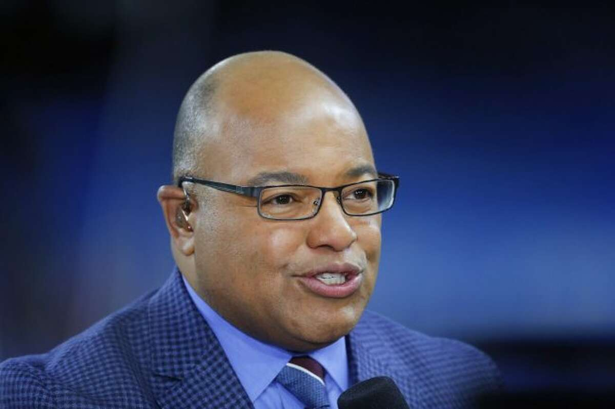 Mike Tirico (above) will call his first NHL game on Feb. 20 when Detroit hosts Chicago on NBC Sports Network's