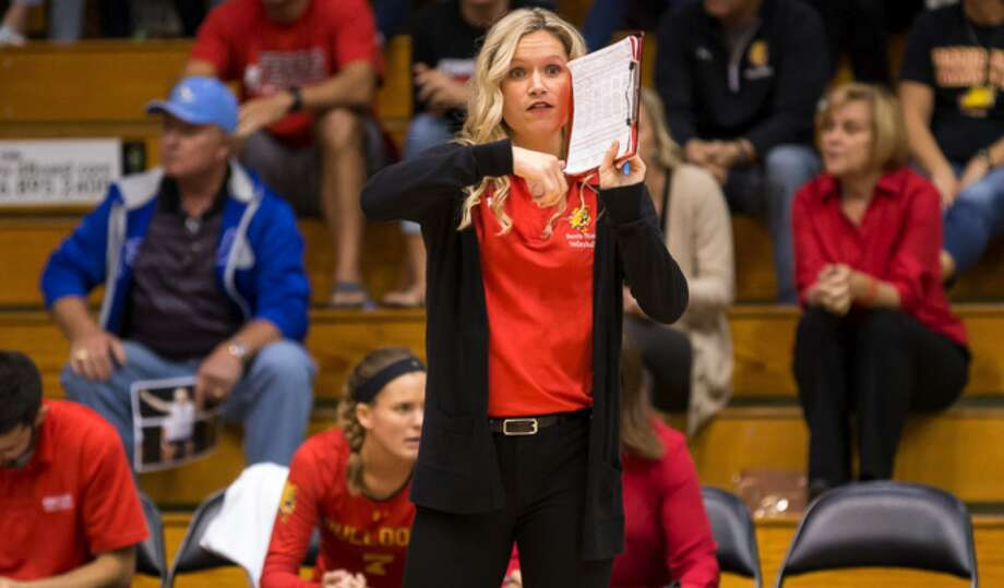 During Christa Cooper's tenure at ferris State, the Bulldogs collected a record of 138-28 (.831), including a mark of 79-6 (.929) in the GLIAC. (Photo courtesy of Ferris State Athletics)