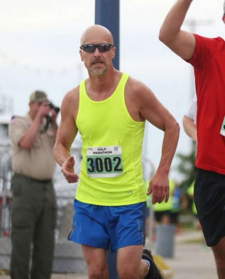 Dave Meier, 55, of Paris, is pictured in this undated photo. Meier is one of 30,000 people expected to run in the Boston Marathon on Monday. (Courtesy photo)