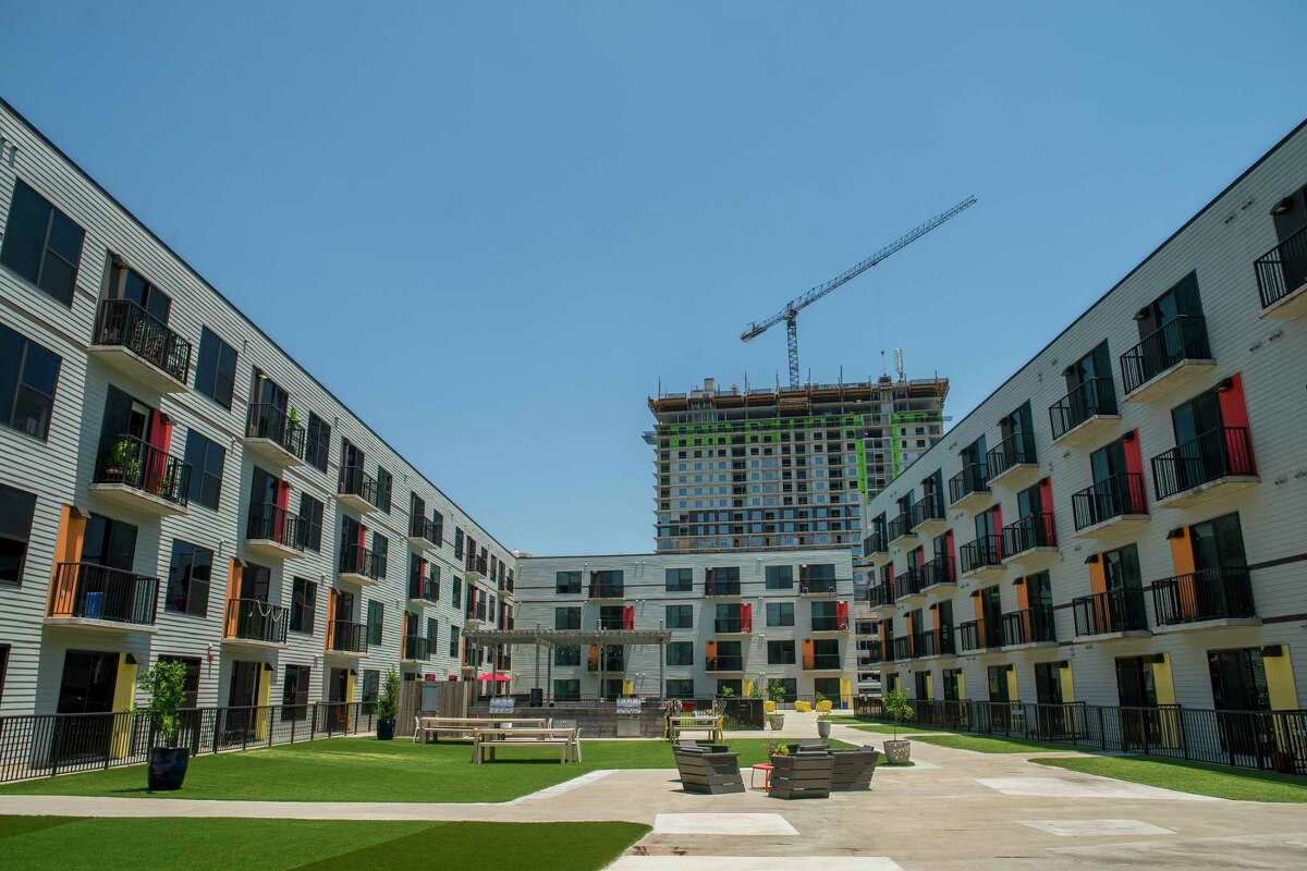 Houston apartment rents averaged $1,111 in October, according to RentCafe. The average rents are $16 higher than they were in October 2018.