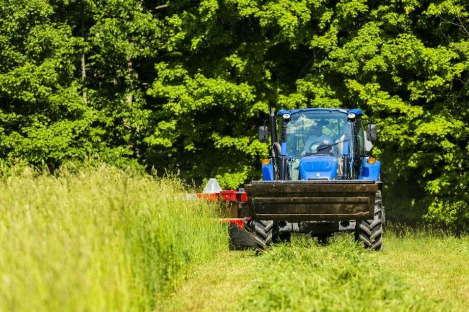 The first hay cutting of the season will soon be underway for farmers in Mecosta and Osceola counties. (Pioneer file photo)