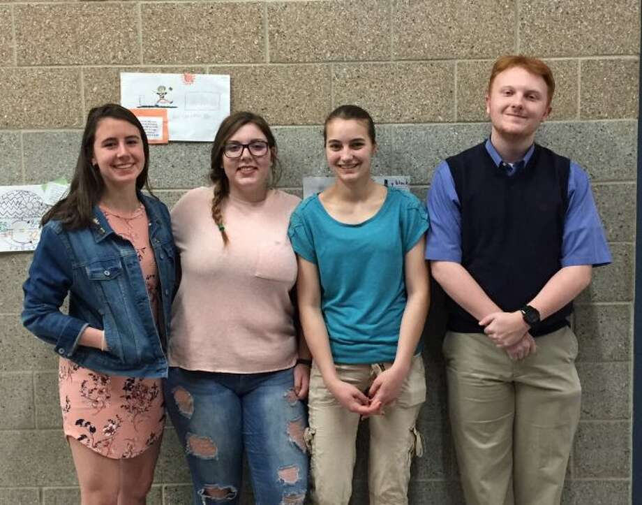 Morley Stanwood High School has announced its highest honor seniors. Honored students include (from left) Mariana Maturen, Lilly Nunn, Francine Brown and Daniel West. (Courtesy photo)