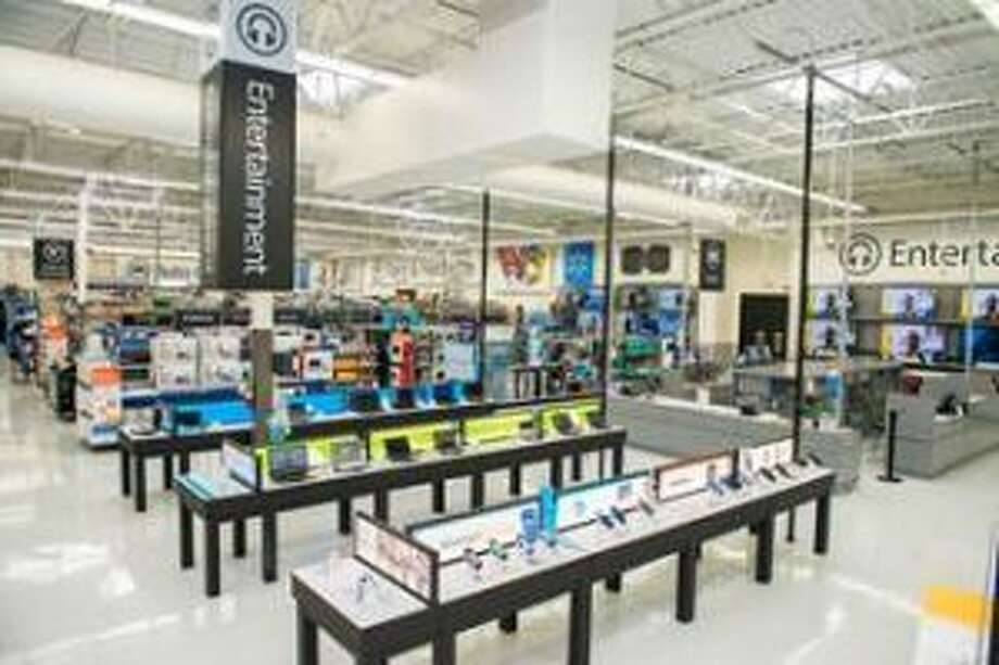 Remodeling is complete at the Big Rapids Walmart Supercenter. Improvements were made in nearly every department of the store to increase lighting and customer convenience. (Courtesy photo)
