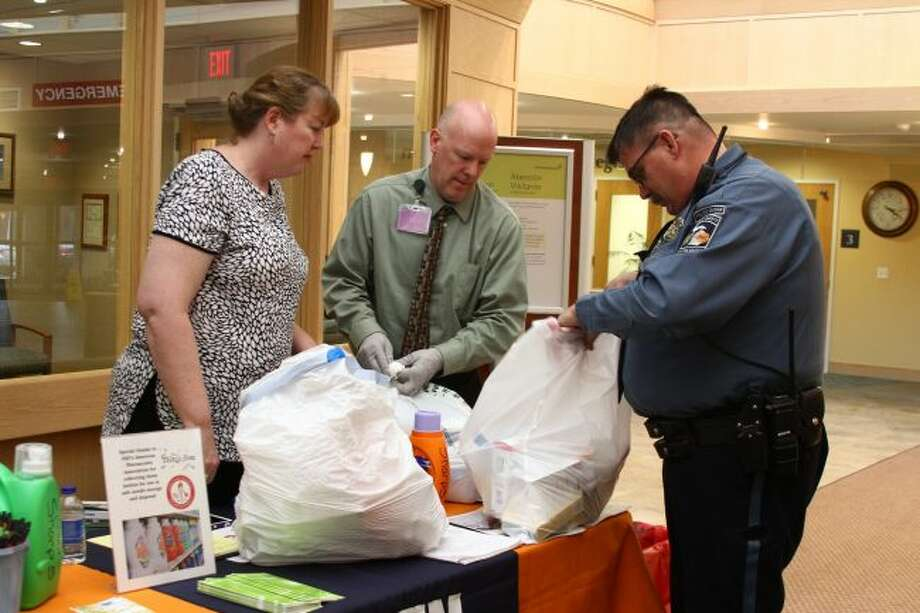 Spectrum Health Big Rapids and Reed City hospitals and Ten16 Recovery Network are hosting several medication and needle take-back events next week to allow area residents to safely dispose of unwanted, unused or expired medications. (Pioneer file photo)