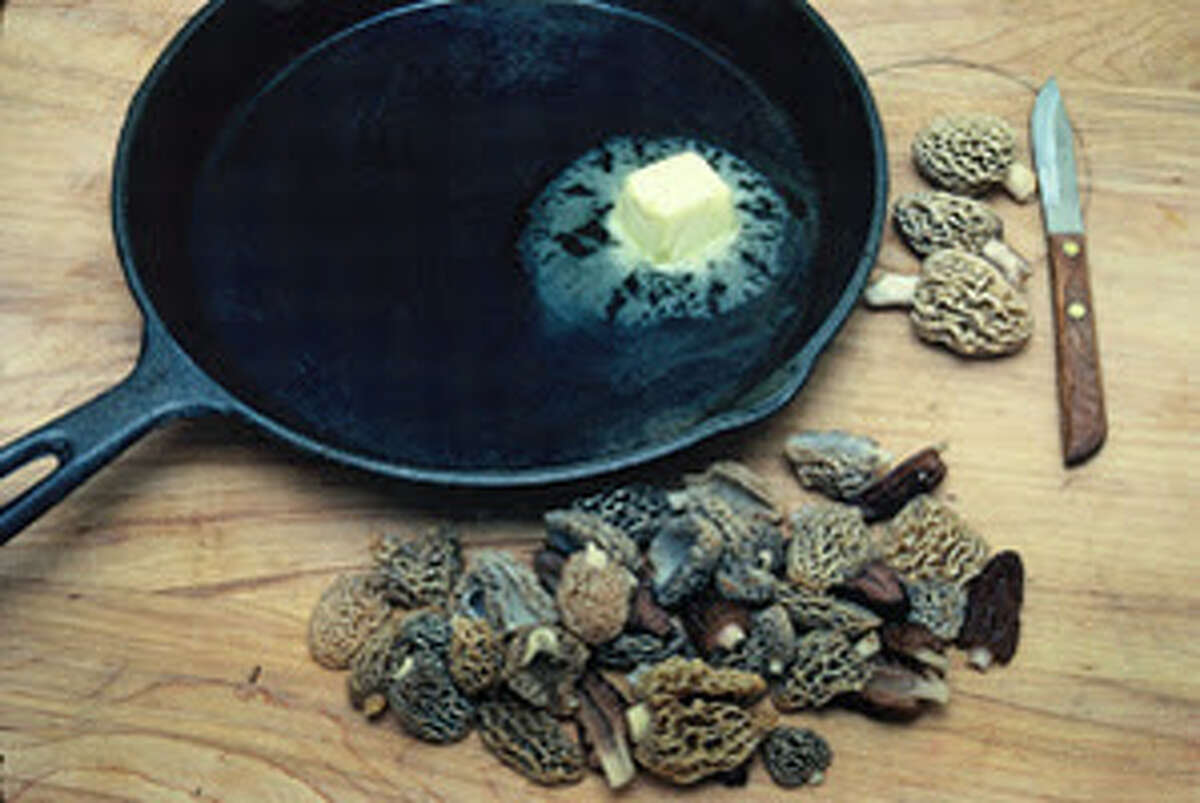 Among favorite ways to prepare morels is to cook them in a skillet with a dab of butter. (Courtesy photo)