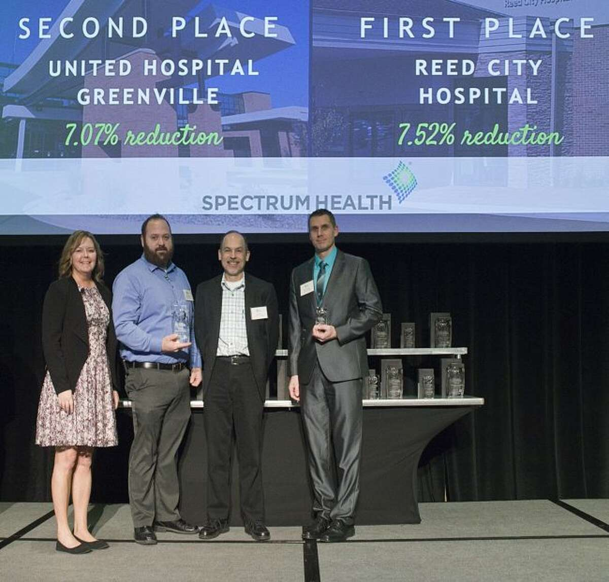 Spectrum Health Reed City Hospital won the first place award among health/hospital facilities in the 2017
