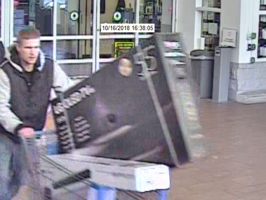 Deputies from the Mecosta County Sheriff's Office have announced they have identified this man and two women suspects in an alleged retail theft on Tuesday from the Walmart store in Big Rapids Township. (Courtesy photo)
