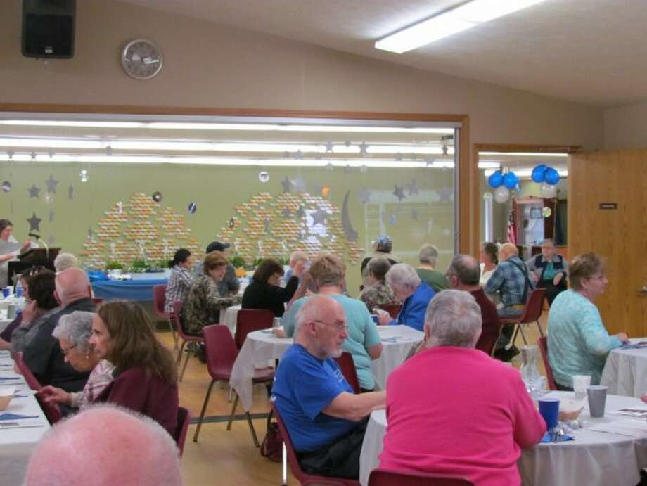 More than 200 volunteers were honored during the annual volunteer recognition dinner at the Mecosta County Commission on Aging and Senior Center. (Courtesy photo)