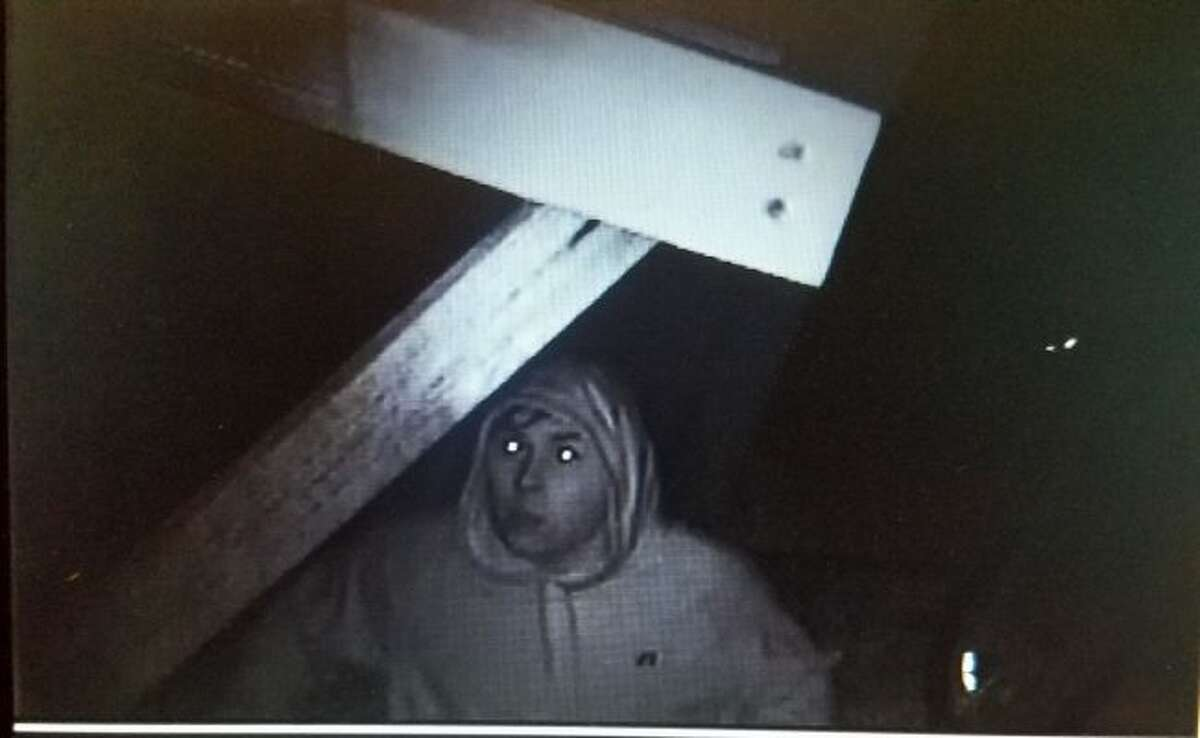 This photo captured on security footage shows the suspect who attempted to break into the M-115 Party Store on Oct. 11. The Osceola County Sheriff's Office is seeking helping identifying the suspect. (Courtesy photo)