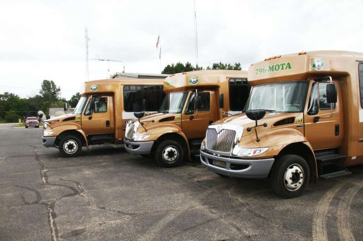 The Mecosta Osceola Transit Authority has started a special grocery shopping run from Reed City to Big Rapids retailers Meijer and Walmart. The trips will take place on Tuesdays and Fridays. (Pioneer file photo)