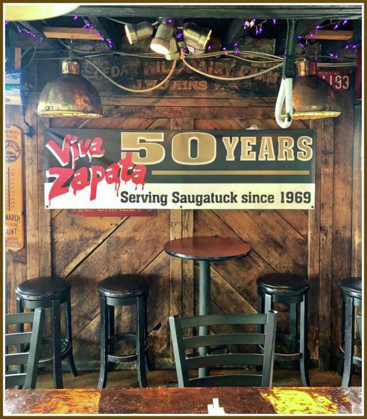 Viva Zapata will celebrate 50 years in Westport with a party on July 27 from noon to closing.