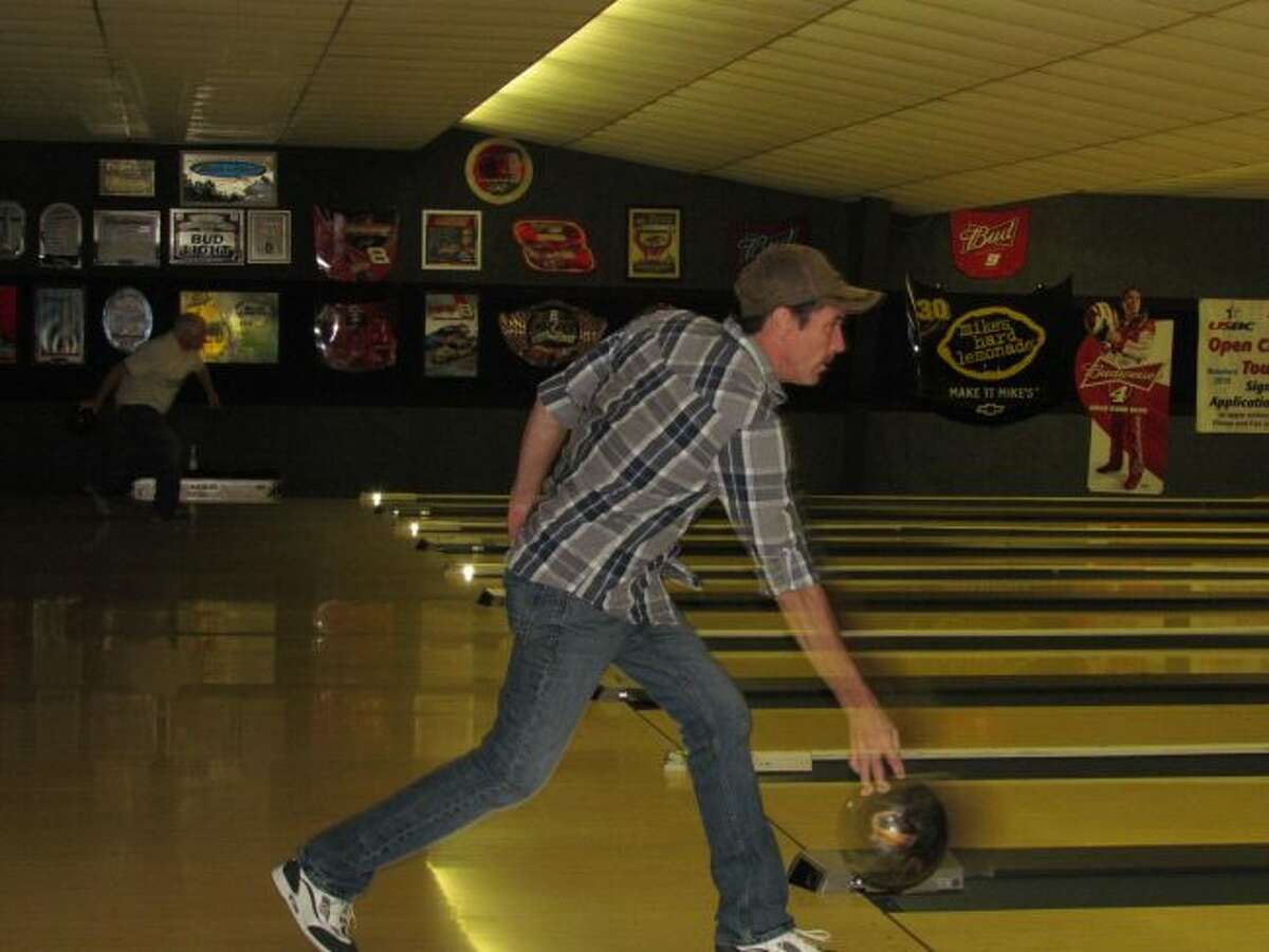A participant in a past bowl-a-thon for medical transportation sends his ball down the lane. The sign-up deadline for this year's event is Wednesday, Nov. 1. (Courtesy photo)