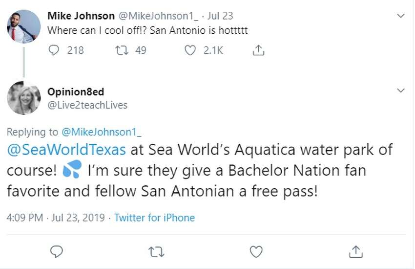 San Antonians give Mike Johnson from ABC's