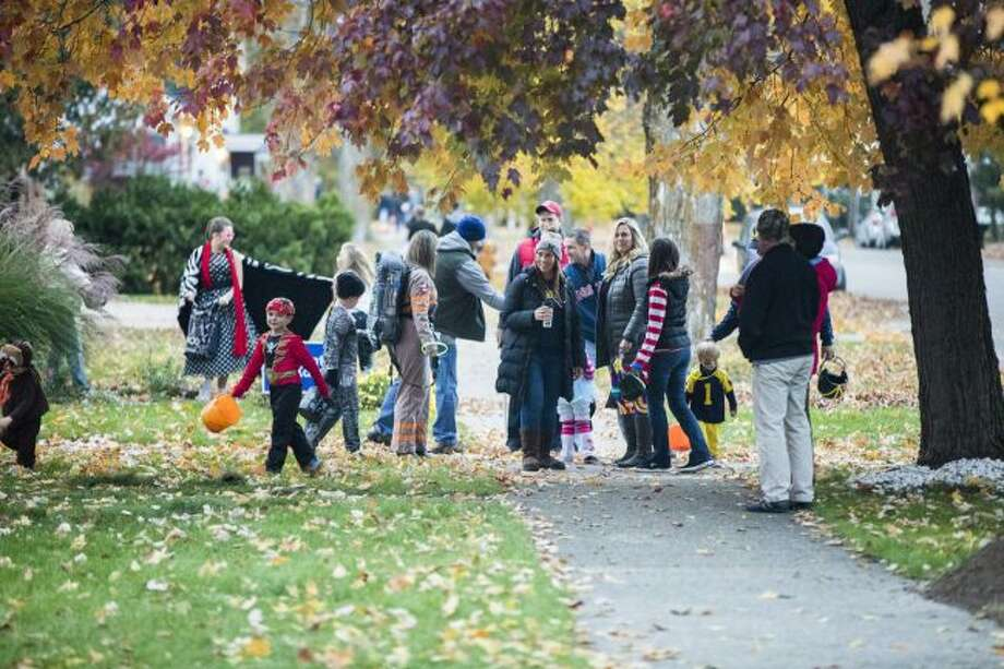 Trick-or-treaters and their parents should keep safety in mind when they are out to collect candy. (Pioneer file photo)