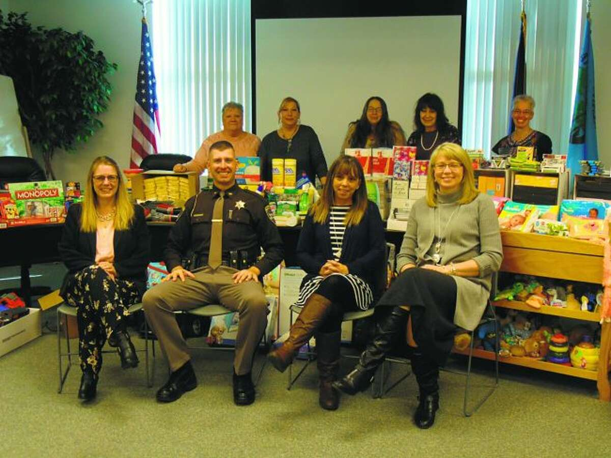Lake County officials recently donated many office supplies and other items to the Open Arms Child Advocacy Center in Big Rapids. (Pioneer file photo)