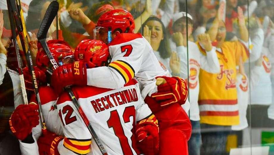 The Ferris State men's hockey team will host 20 games at Ewigleben Ice Arena next season. (Photo courtesy of Ferris State Athletics)