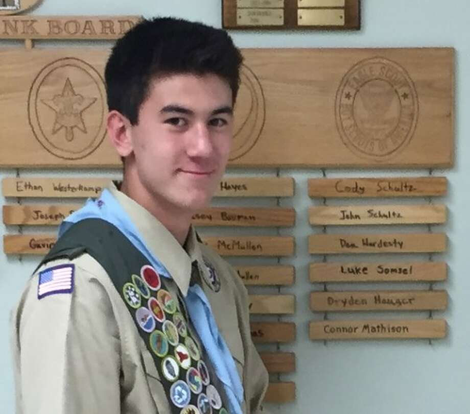 Connor W. Mathison, of Big Rapids, has earned the rank of Eagle Scout, the highest rank available in Boy Scouts. (Courtesy photo)