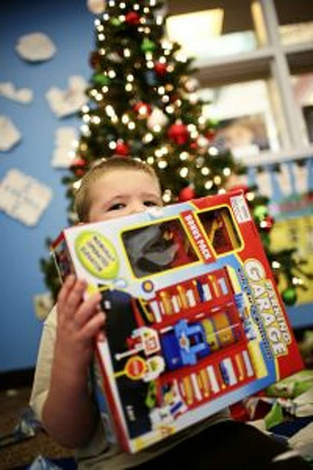Youngsters throughout Mecosta, Osceola, Lake and Newaygo counties will receive Christmas presents thanks to the Salvation Army Angel Tree program. Sign-ups begin Monday. (Courtesy photo)