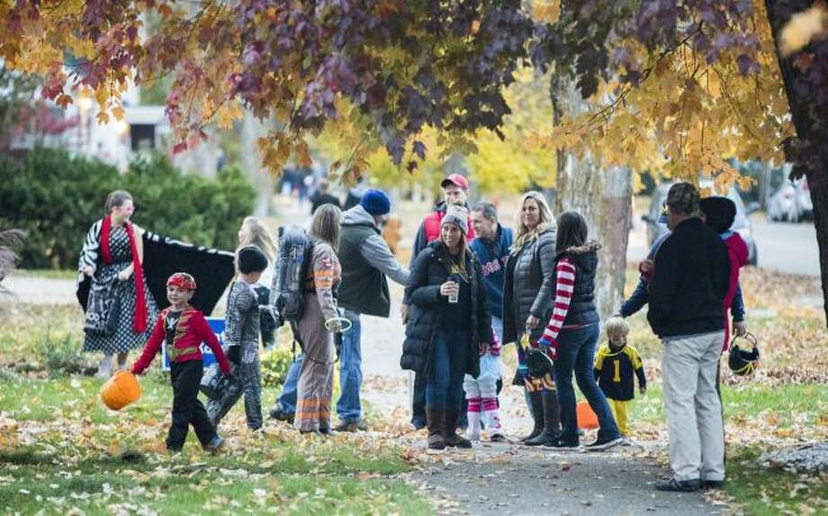 Communities throughout the area will have a variety of Halloween options for families, including traditional trick-or-treating. (Pioneer file photo)