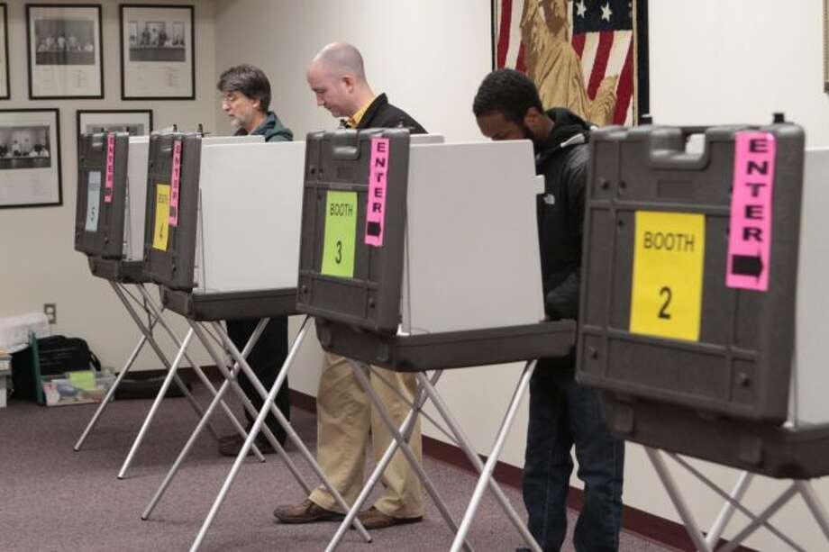 In addition to voting for candidates in several statewide races, Mecosta County residents voted for multiple local candidates. (Pioneer photo/Taylor Fussman)