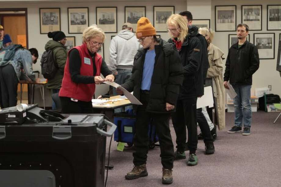 Area residents decided who will sit on the Mecosta County Board of Commissioners after casting their votes in the general election. (Pioneer photo/Taylor Fussman)