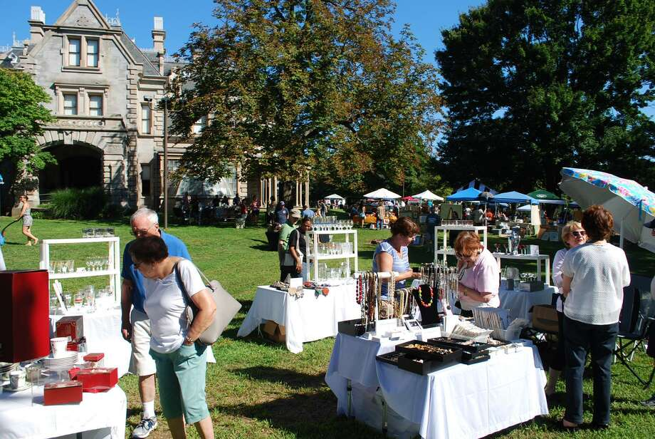Norwalk's Lockwood-Mathews Mansion Museum will host its 12th annual Old-fashioned Flea Market Sept. 15. Photo: LMMM / Contributed Photo