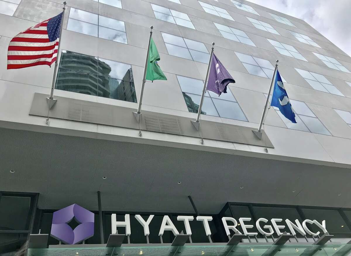 The brand new Hyatt Regency Seattle is the largest in the city with 1,260 rooms. Karen Pritzker's family founded the Hyatt Hotel chain in 1957. Karen Pritzker Industry: Service Net worth in March: $4.9 B Net worth in June: $5.482 B Percent change: +11.9% Source: Forbes