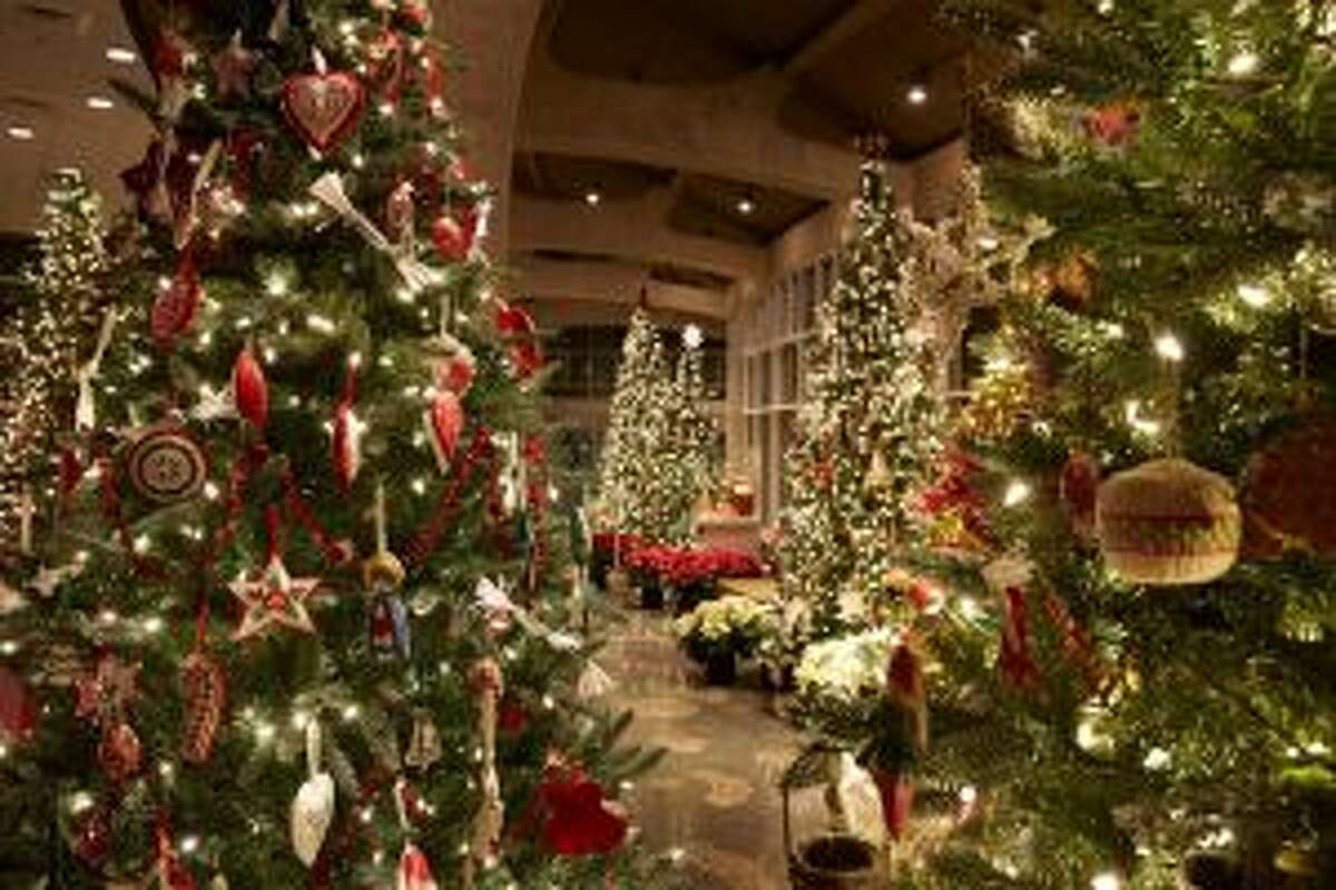 At Frederik Meijer Gardens and Sculpture Park, visitors can browse the more than 40 international-inspired Christmas tree indoors, as well as tour the gardens outside during a winter walk. (Courtesy photo)