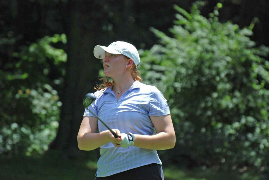 Meghan Mitchell won the 54th Connecticut Women's Open at Oronoque Country Club on Thursday, July 25, 2019 in Stratford, Conn. Mitchell shot a 4-over in the final round for a two-day total of 157 to win by two strokes. Photo: Connecticut State Golf Association / Contributed Photo / Stamford Advocate Contributed