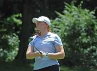 Meghan Mitchell won the 54th Connecticut Women's Open at Oronoque Country Club on Thursday, July 25, 2019 in Stratford, Conn. Mitchell shot a 4-over in the final round for a two-day total of 157 to win by two strokes.