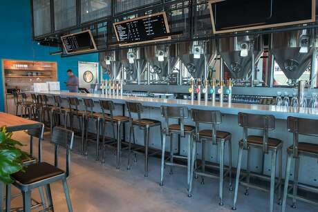 Interior space of Little Creatures Brewery a new brewery opening in San Francisco's Mission Bay neighborhood on Friday July 26. The project comes via an Australian beer company called Little Creatures. Photo: Jana Asenbrennerova / Special To The Chronicle