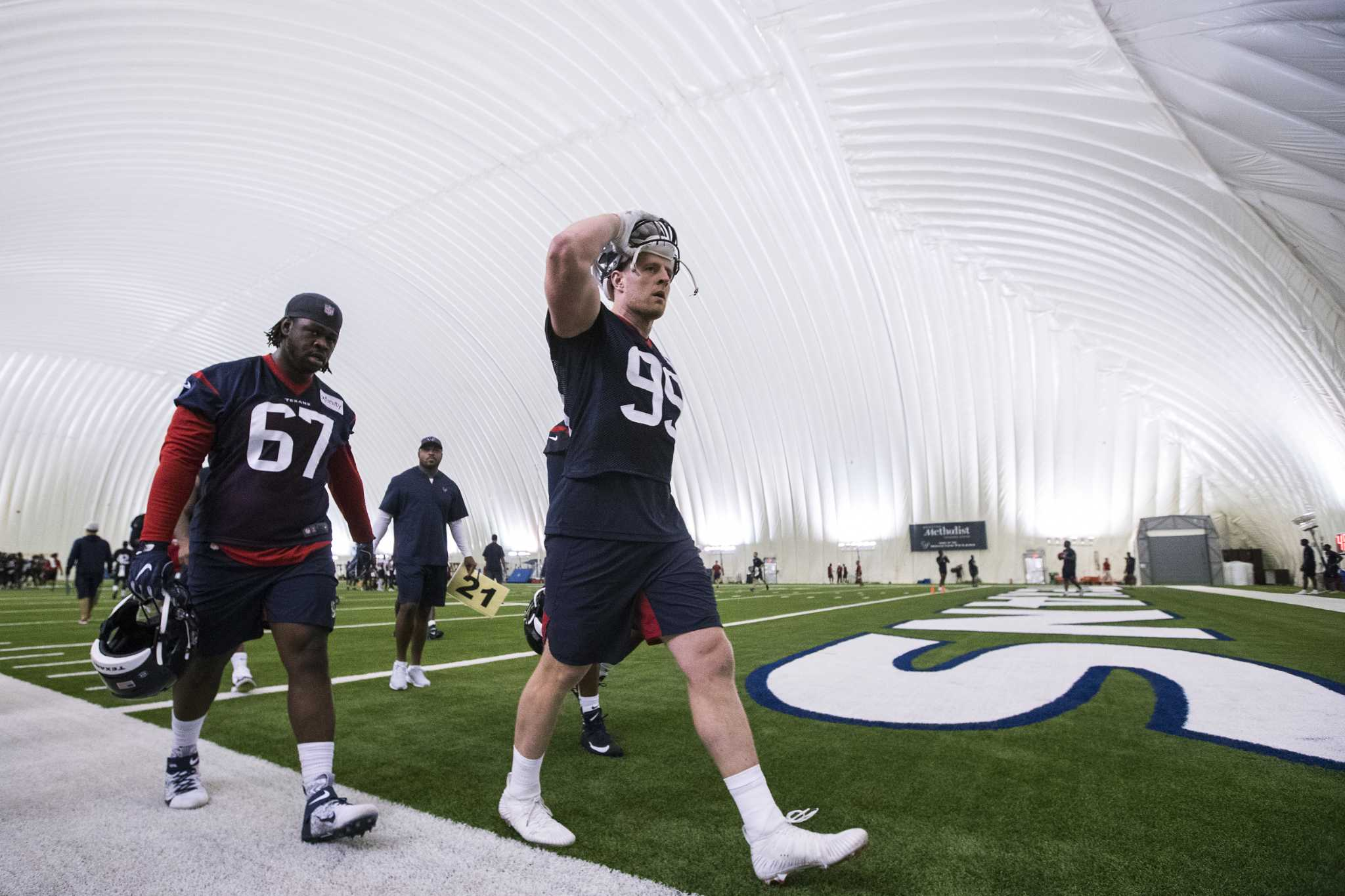 Texans camp: Day 3 updates