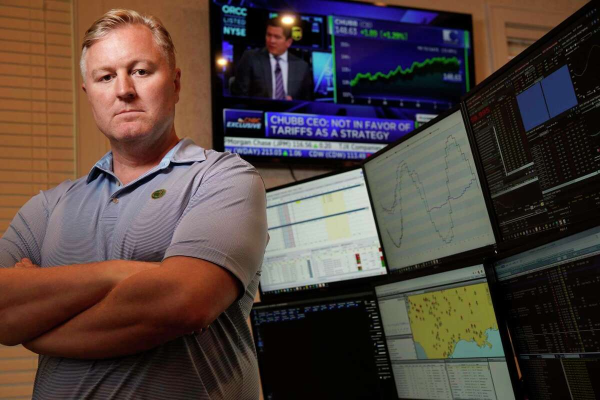 Adam Sinn, president of the electricity trading firm Aspire Commodities, has asked the Public Utility Commission to require generators to repay a $18 million windfall after prices spiked to $9,000, the highest allowed in Texas.