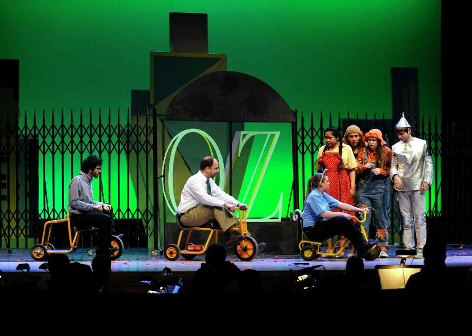 "Danbury High School Productions presented the musical, ""The Wiz"" in 2015. Photo: Carol Kaliff / Carol Kaliff / The News-Times"