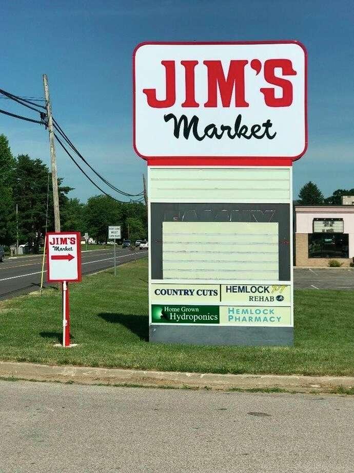 Jim's Market will be opening soon in Hemlock at 176 Hemlock Plaza Dr.