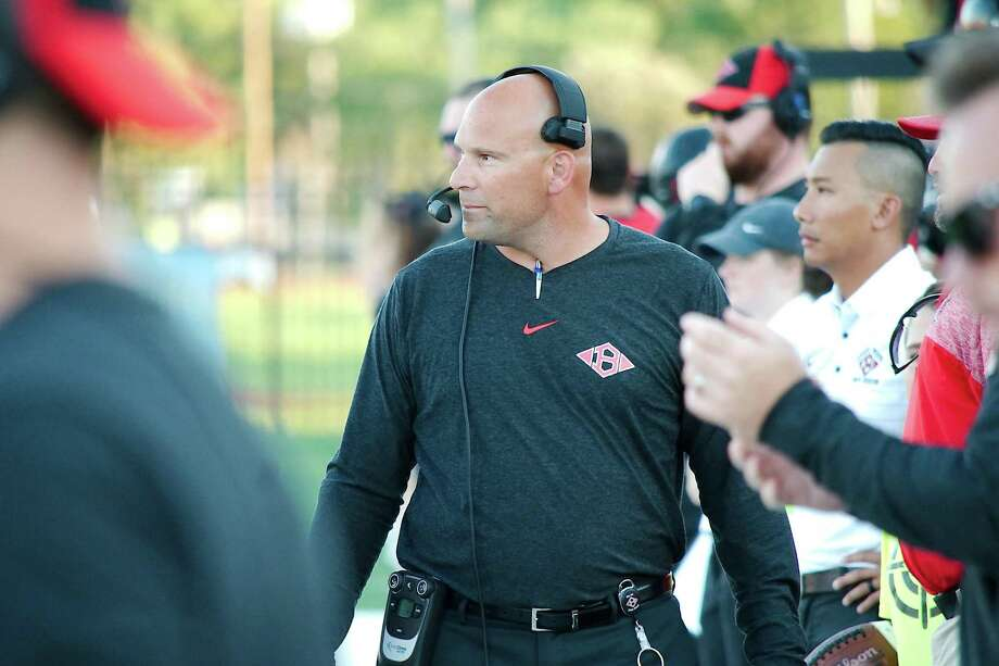 Clear Brook head football coach Guadalupe Florez has resigned after two seasons, one in which he led the Wolverines to the playoffs. Photo: Kirk Sides / Houston Chronicle / © 2018 Kirk Sides / Houston Chronicle