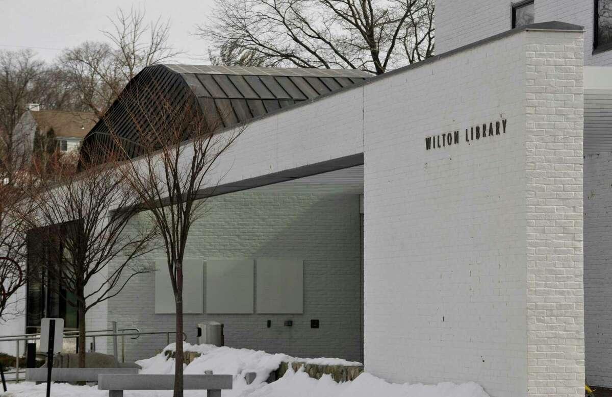 Wilton Library, 137 Old Ridgefield Road in Wilton, Conn.
