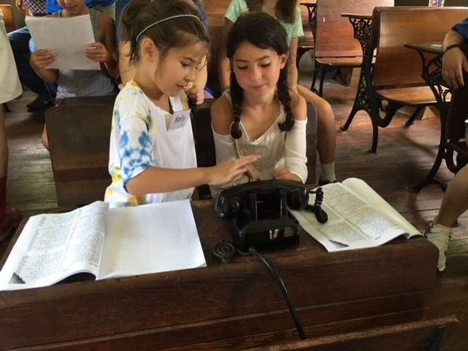 Historical games await children ages 7 to 12 at the Shelton Historical Society's Adventures in History camp. Photo: Contributed Photo / Connecticut Post
