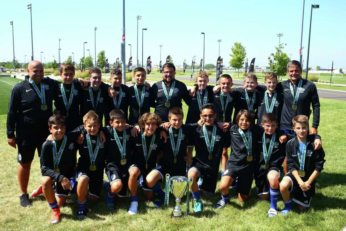 Newtown-based AC Connecticut's U-13 team won the National Cup last week.