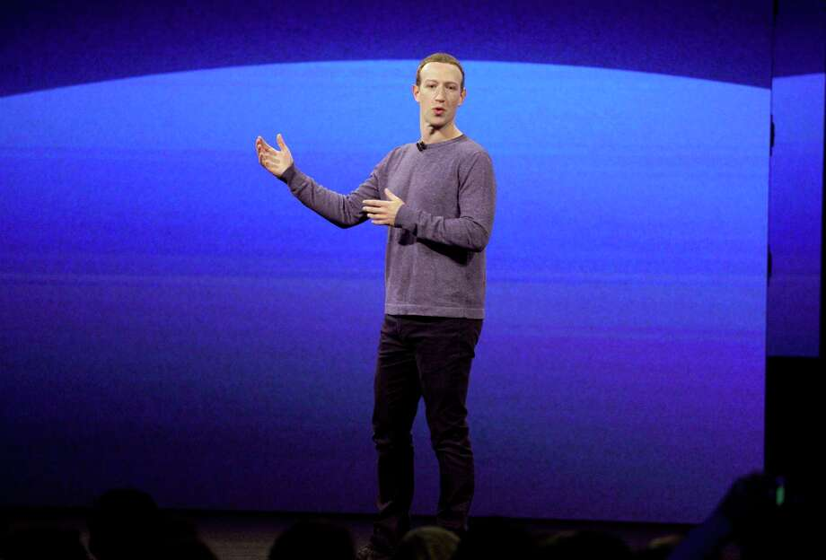 FILE - In this Tuesday, April 30, 2019 file photo, Facebook CEO Mark Zuckerberg makes the keynote speech at F8, the Facebook's developer conference in San Jose, Calif. Michelle Richardson, director of privacy and data for the Center for Democracy and Technology, said it's possible that accountability measures imposed in July 2019 on Facebook CEO Mark Zuckerberg, who must personally certify compliance, may give the company pause before launching new services that could threaten users' privacy or data security. (AP Photo/Tony Avelar) Photo: Tony Avelar / Tony Avelar / Associated Press / Copyright 2019 The Associated Press. All rights reserved