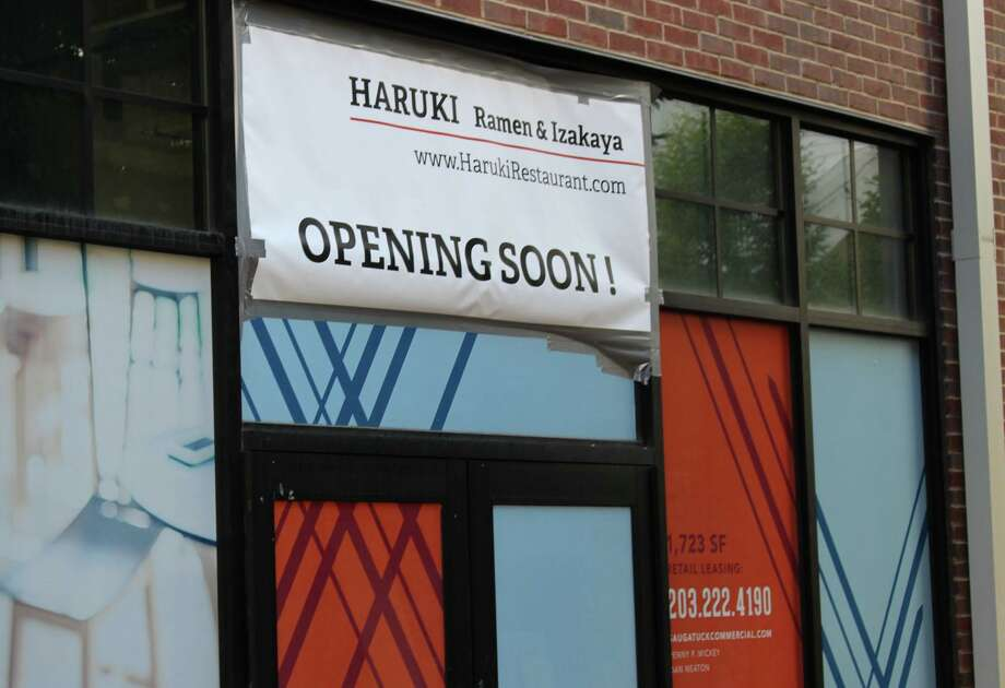 A new Japanese ramen restaurant, called Haruki, is coming to the Waypointe complex in September. Photo: Kelly Kultys / Hearst Connecticut Media