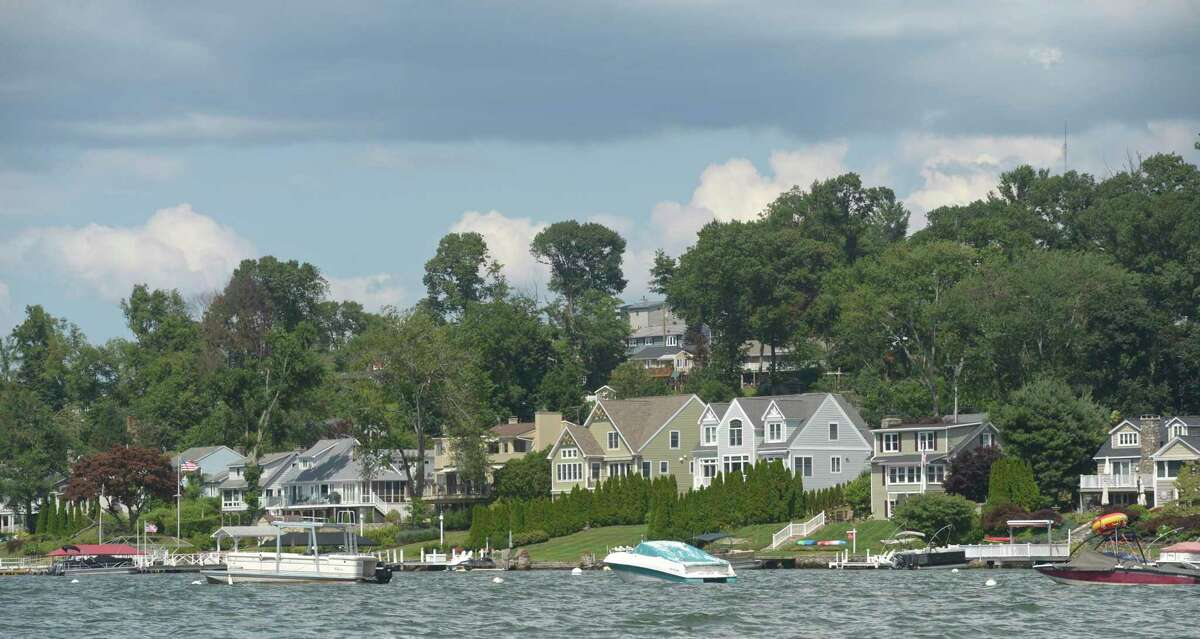 Brookfield has received two grants one of which is to study septic discharges onto Candlewood Lake. Wednesday, July 24, 2019, in Brookfield, Conn.