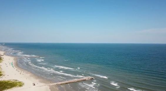 Blue water is back at Galveston Island this weekend