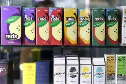 Juul-backed ballot measure may repeal SF's flavored e-cigarette ban