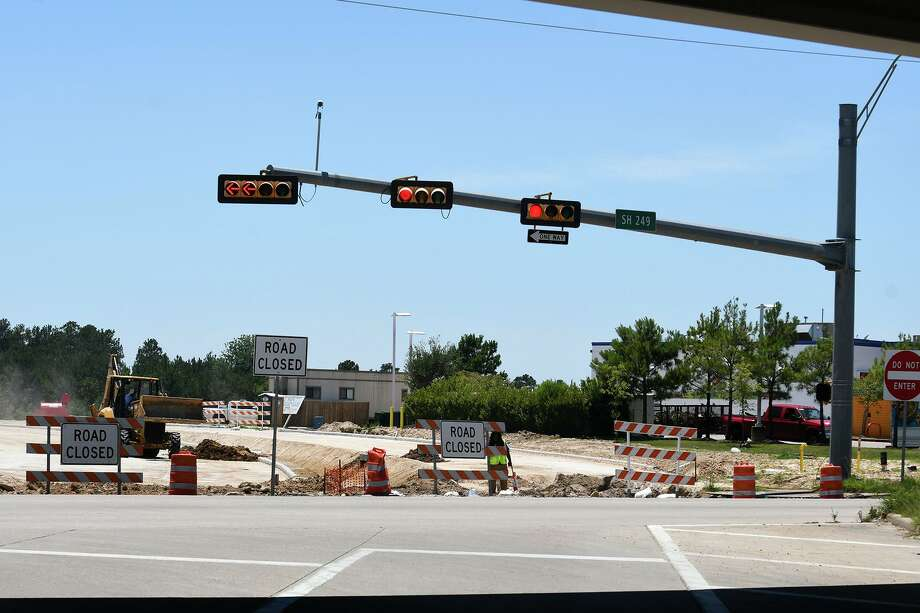Construction along Holderrieth Road and 249 continues on June 12, 2019. Photo: Jerry Baker, Houston Chronicle / Contributor / Houston Chronicle