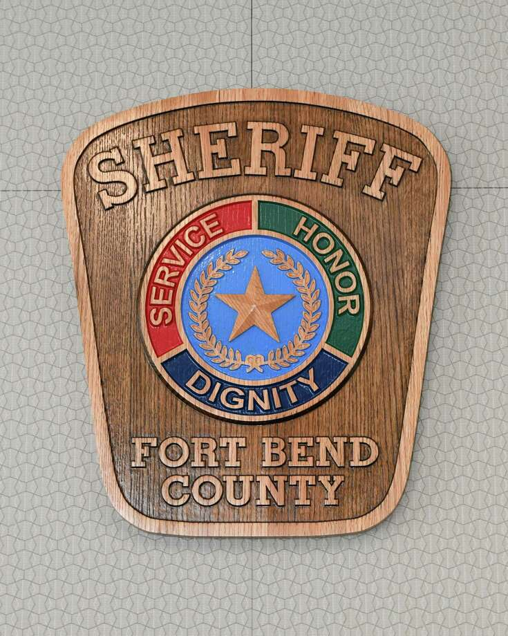 A plaques made by inmates at the Texas Department of Corrections adorn the walls at the Fort Bend County Sheriff's office in Richmond, TX on Saturday, July 20, 2019. Photo: Craig Moseley,  Houston Chronicle / Staff Photographer / ©2019 Houston Chronicle