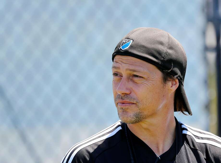 Earthquakes head coach Matias Almeyda is photographed after practice at the Avaya Stadium practice field in San Jose on July 26, 2019. Photo: Josie Lepe / Special To The Chronicle